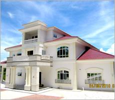 House Construction in Brunei - Altic Overlook Design, Modern ... on house design in uae, house design in thailand, house design in usa, house design in malaysia,
