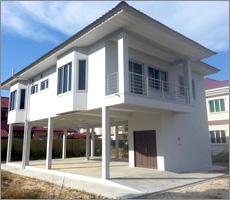 House Construction in Brunei - Altic Overlook Design, Modern ...